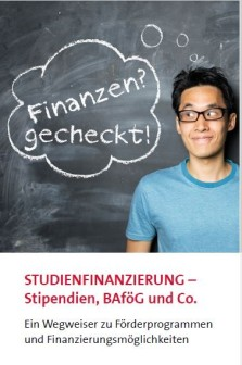 Flyer Studienfinanzierung