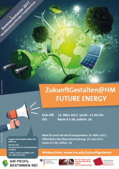Seminarplakat Future Energy