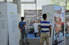Die Ausstellung 'Innovation For Better Lives'