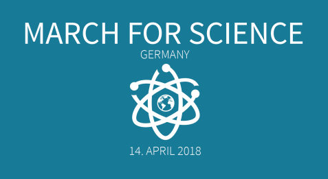 Am 14. April ist globaler March for Science