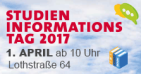 Save the date: Studieninformationstag 2017