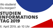 Studieninformationstag 2019 am 6. April ab 10 Uhr