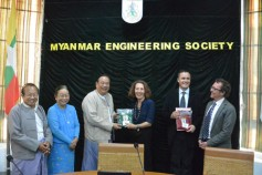 Workshop bei Myanmar Engineering Society