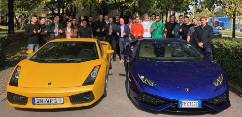Lamborghini-Kick-Off bei den Transportation Designern in München (Foto: privat)