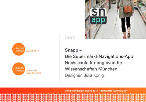 screenshot website universal design award und consumer favorite 2014